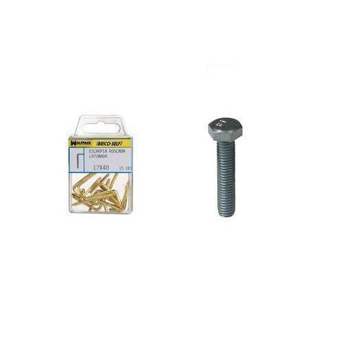 brico-self-tornillo-cabeza-hexagonal-zincado-m6-x-20-mm