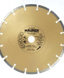 disco-diamante-maurer-segmentado-laser-230-mm