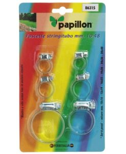 set-abrazaderas-inoxidable-papillon-6-piezas