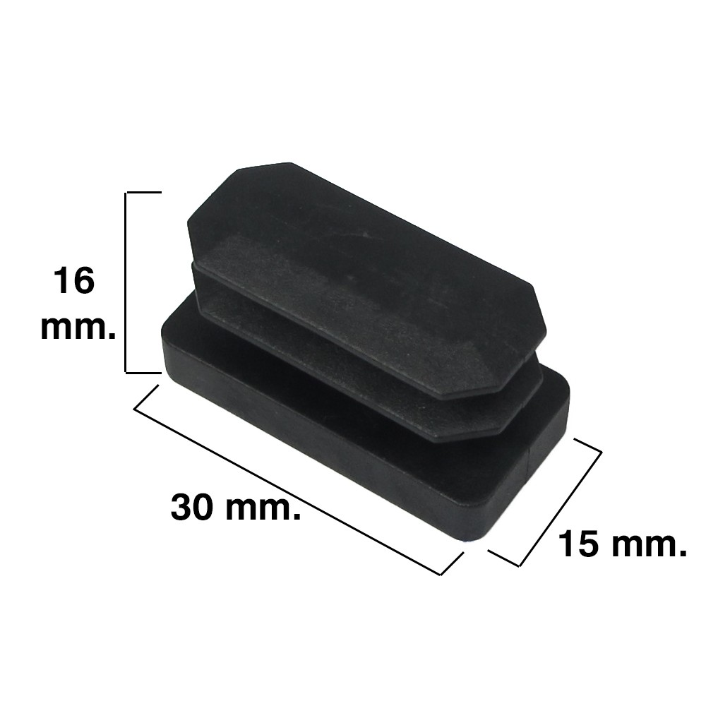 contera-rectangular-negra-15x30mm-blister-4-piezas