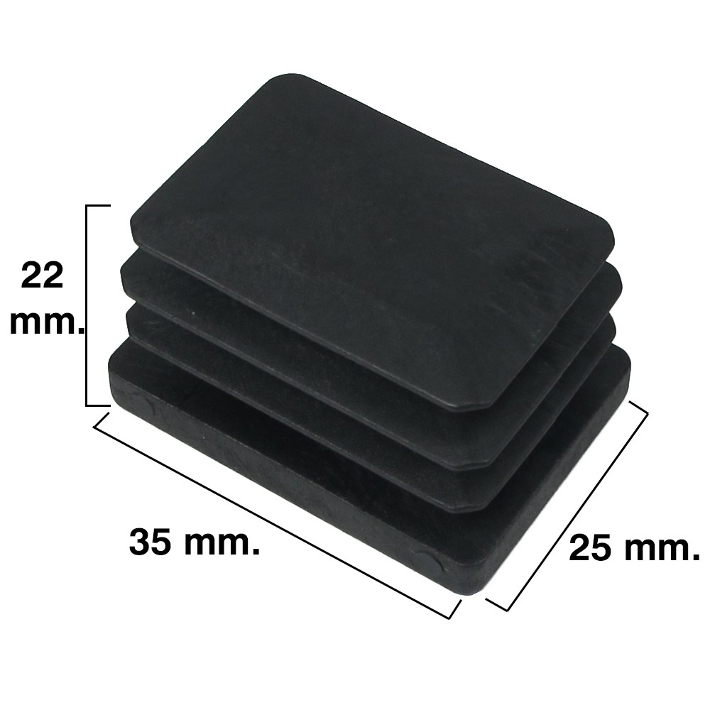 contera-rectangular-negra-25x35mm-blister-4-piezas